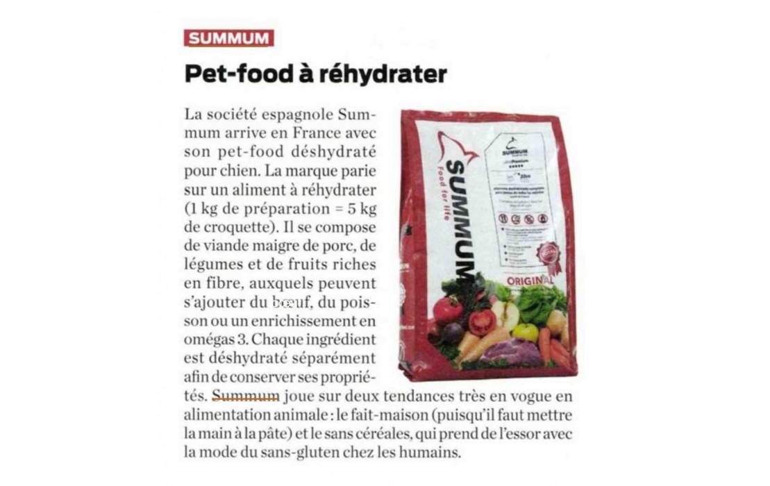 Summum dans les colonnes de Process Alimentaire magazine !